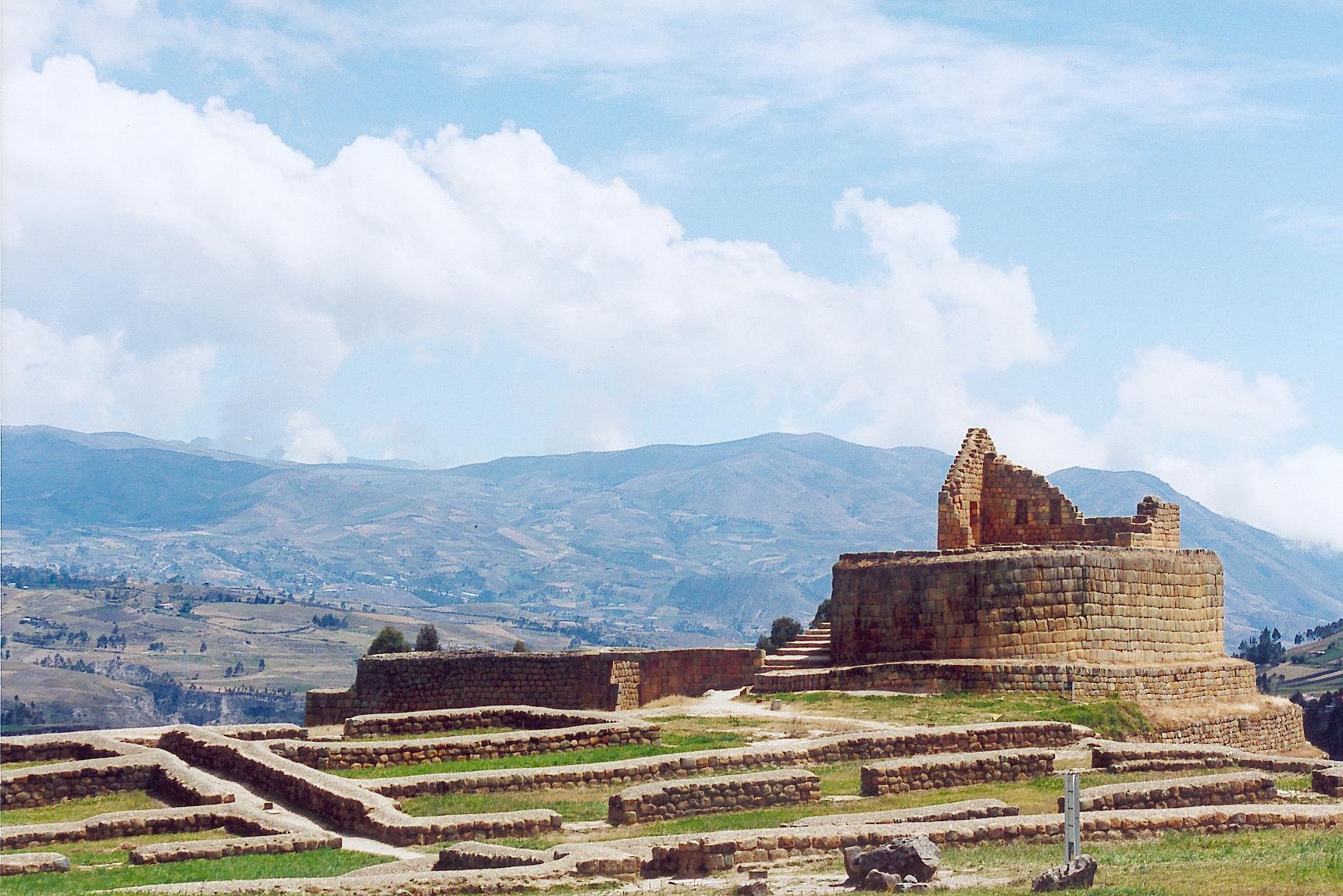 Inca Ruins Ecuador