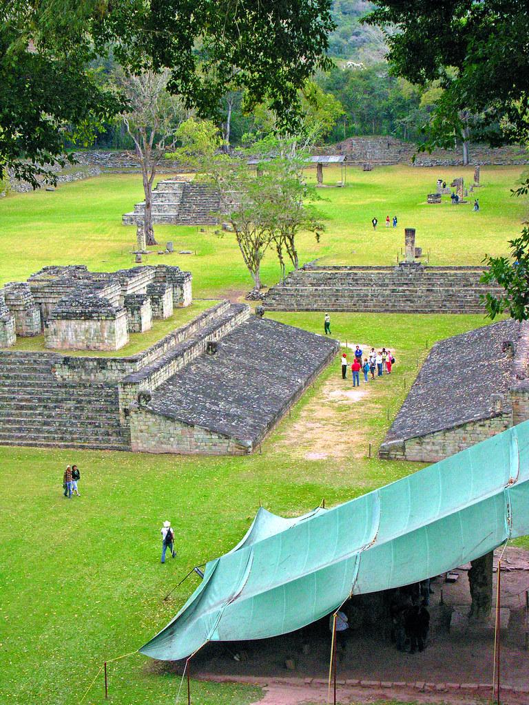 Historical Ruins Honduras
