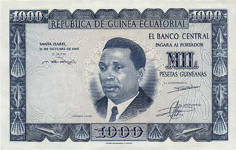 Currency of Guinea Equatorial