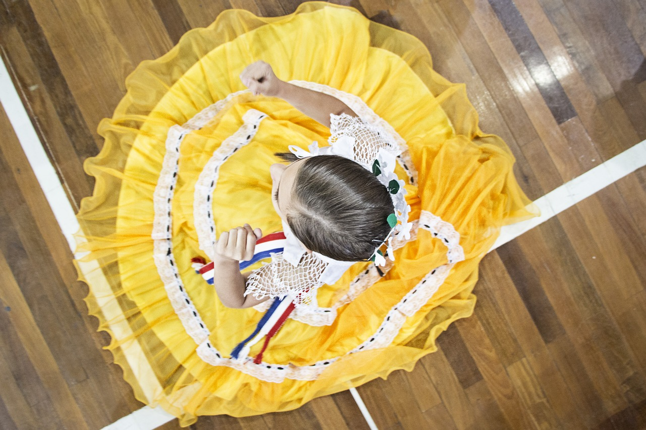 Folk dance of Paraguay
