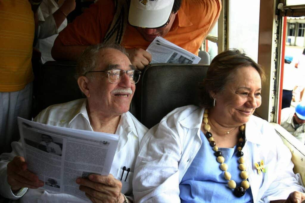 Gabriel Garcia Marquez and Mercedes Barcha